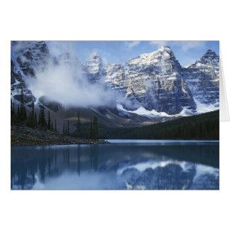 Parc national du Canada, Alberta, Banff, lac Carte