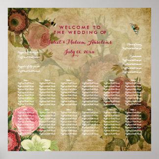 Parchemin de PixDezines/roses vintages/diagramme