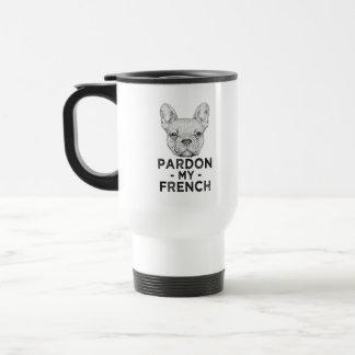Pardon drôle ma tasse de café de bouledogue