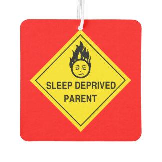Parent déshérité par sommeil désodorisant pour voiture