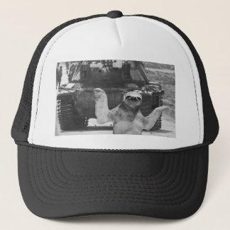 paresse avec le réservoir casquette
