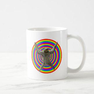 Paresse d'arc-en-ciel mug
