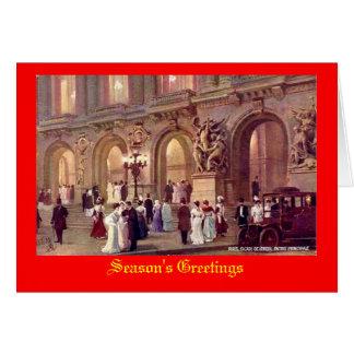 Paris, carte de Noël