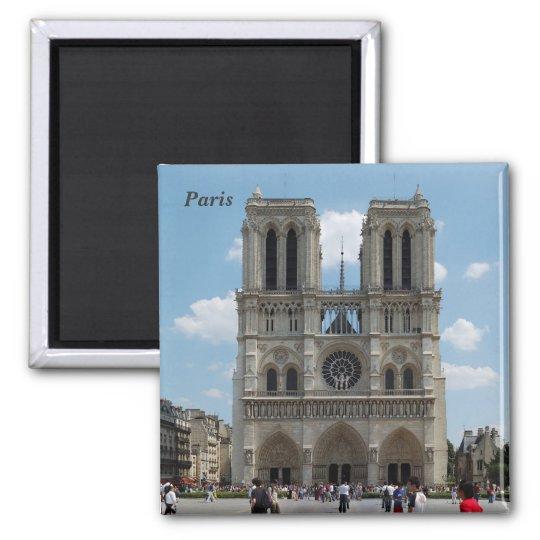 Paris - Cath�drale Notre-Dame - Aimant