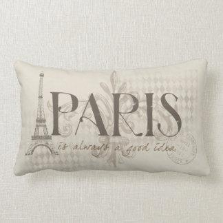 Paris est toujours un bon coussin d'idée