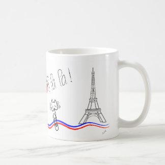 Paris, oh La de La ! Conversation de le Mug Blanc