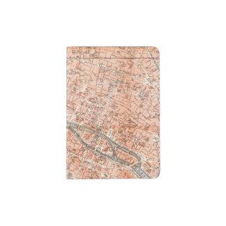 Paris rose protège-passeport