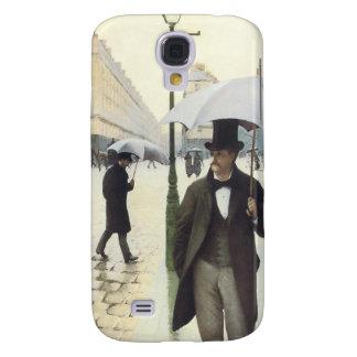 Paris, sur un coque iphone de jour pluvieux