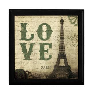 Paris vintage boîte à babioles