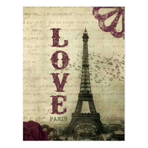 Paris vintage carte postale | Zazzle