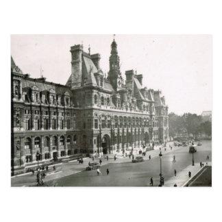 Paris vintage, Hotel de Ville Carte Postale