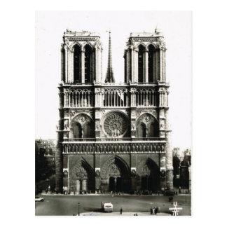 Paris vintage, Paris Notre Dame, Ile de la Citie Carte Postale
