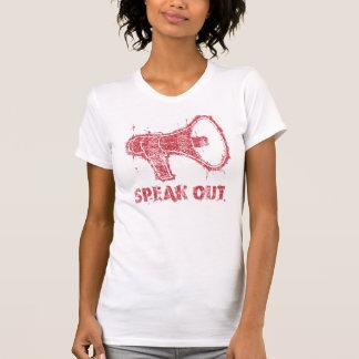Parlez le T-shirt de mégaphone