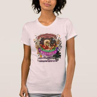 Parodie animale de Vivaldi de compositeur de faon T-shirt
