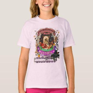 Parodie animale mignonne de Vivaldi de compositeur T-shirt