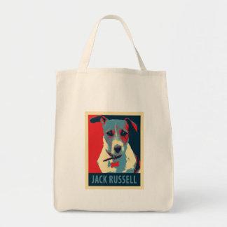 Parodie politique d'espoir de Jack Russel Terrier Tote Bag