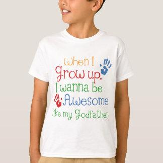 Parrain impressionnant de cadeau de filleul t-shirt