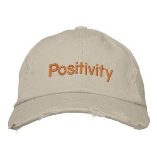 Partagez votre positivité chapeaux brodés