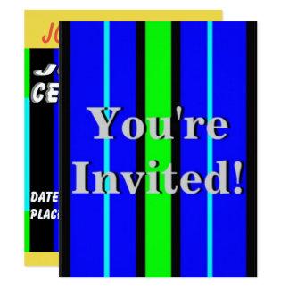 Partie d'anniversaire de enfant carton d'invitation 10,79 cm x 13,97 cm