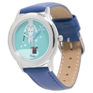 Partie d'anniversaire de enfant de magicien montres bracelet