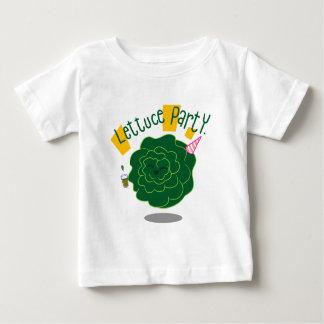 Partie de laitue t-shirt pour bébé