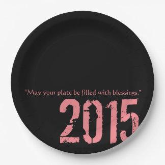Partie Paperware de PaperWise 2015 Assiettes En Papier
