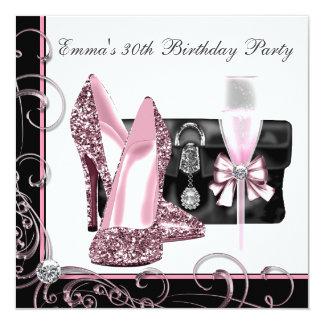 Partij van de Verjaardag van de vrouw de Roze en Z Aankondiging