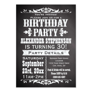 Partij van de Verjaardag van het Bord van de Lei Kaart