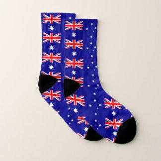Partout chaussettes d'impression avec le drapeau