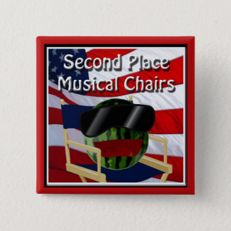 Party 4 juillet les chaises musicales du 2ème badge carré 5 cm