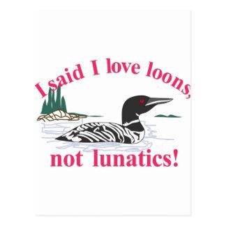 Pas Lunatics Cartes Postales