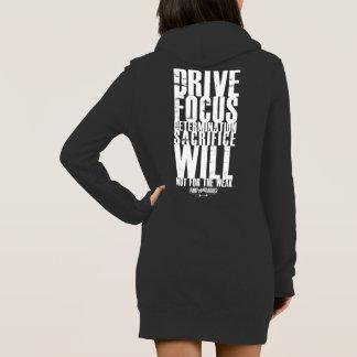 PAS POUR la robe FAIBLE de sweat - shirt à capuche