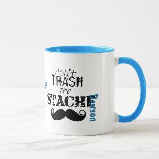 Pas trash hippie de moustache de Stache le rétro Mug