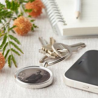 Passende Zwarte & Witte Premie om Keychain Sleutelhanger