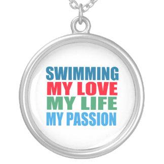 Passion de natation pendentifs
