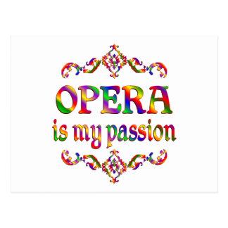 Passion d'opéra carte postale