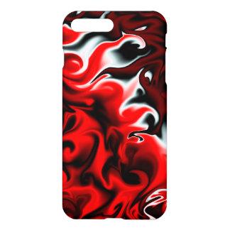 Passion rouge et noire coque iPhone 7 plus