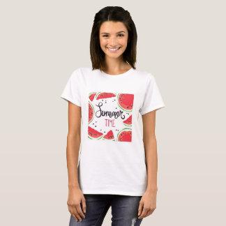 Pastèque d'heure d'été t-shirt