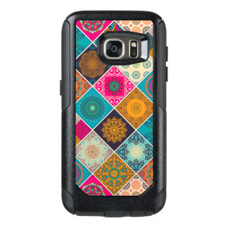 Patchwork de Bohème coloré de mandala Coque OtterBox Samsung Galaxy S7