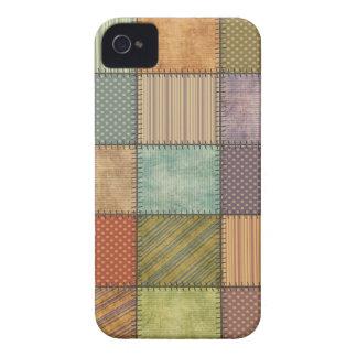 Patchwork mignon coloré gai coques Case-Mate iPhone 4