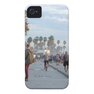 patinage à la plage de Venise Étui iPhone 4