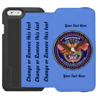 Patriotique allez dirigent pour customiser coque-portefeuille iPhone 6 incipio watson™