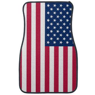 Patriotique, ensemble de tapis de voiture avec le