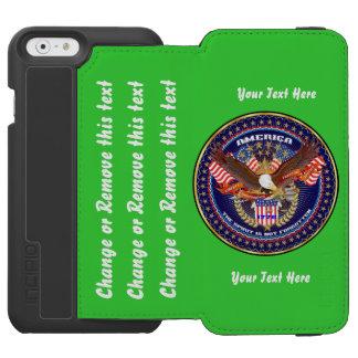Patriotique ou la politique allez dirigent pour coque-portefeuille iPhone 6 incipio watson™