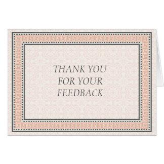Patronen & Grenzen 1 danken u voor Uw Briefkaarten 0