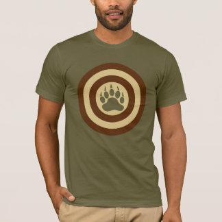 Patte d'ours de bouclier de superhéros de fierté t-shirt