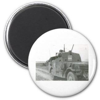 Pattons-M3A1-scout-car-1 Magnets Pour Réfrigérateur