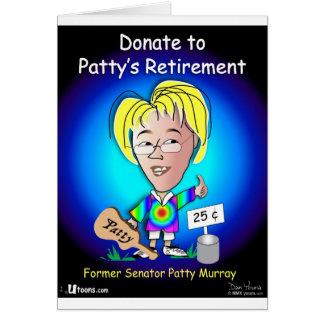 Patty libre carte de vœux