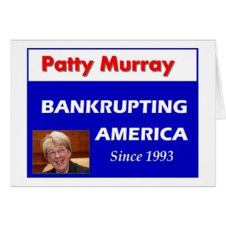 Patty Murray ruinant l'Amérique Carte
