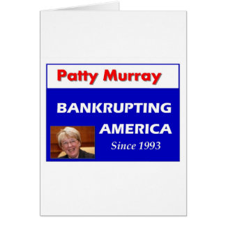 Patty Murray ruinant l'Amérique Carte De Vœux